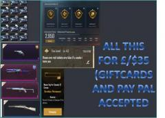 Selling a pubg account