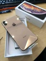 brand new gold iphone xs max 256gb