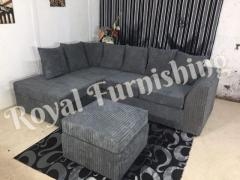 ???????? NEW BYRON FULL FABRIC CORNER SOFA OR 3+2 SOFA SET AVAILABLE NOW IN STOCK