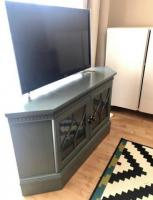 very simple compact design  Tv stand/cabinet