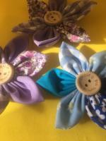 X6 cotton material flowers
