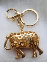 Keys ring holder with elephant.