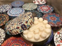 Jasmine soap with tin box