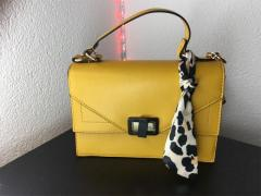 Fendi petit yellow purse