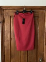 Ice Babes red pencil skirt