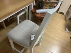 julian bowing fixed top dining table and chairs
