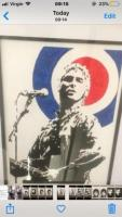 Paul weller oil painting