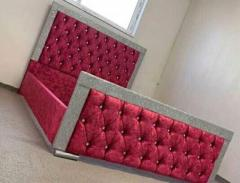 Brand New Sleigh/Crushed velvet /plush velvet Beds
