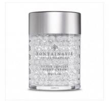 Silver impose night cream with hyaluronic acid