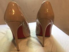 Louboutin shoes-size 6 but fits 5 too