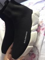 Balenciaga style sock trainers-perfect quality size 7.5