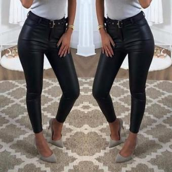 Rachel Leather Look Jeans