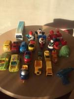 Toys mix cars and other..