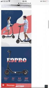 iscooter E9 pro Ultralight Folding scooter