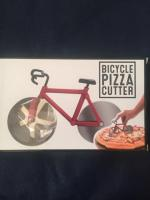 Bicycle pizza cutter.