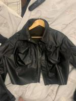 Plt leather jacket