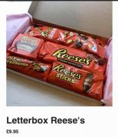 Letterbox Reeses giftbox
