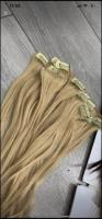 Blonde human hair extension 28 inch