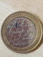 2 pounds coin Robert burns 2009