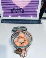 Wax melts jar