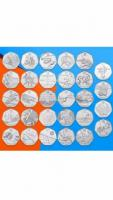 50p coin London Olympic Games 2012.