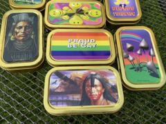 Tobacco/ Storage Tin, various designs available